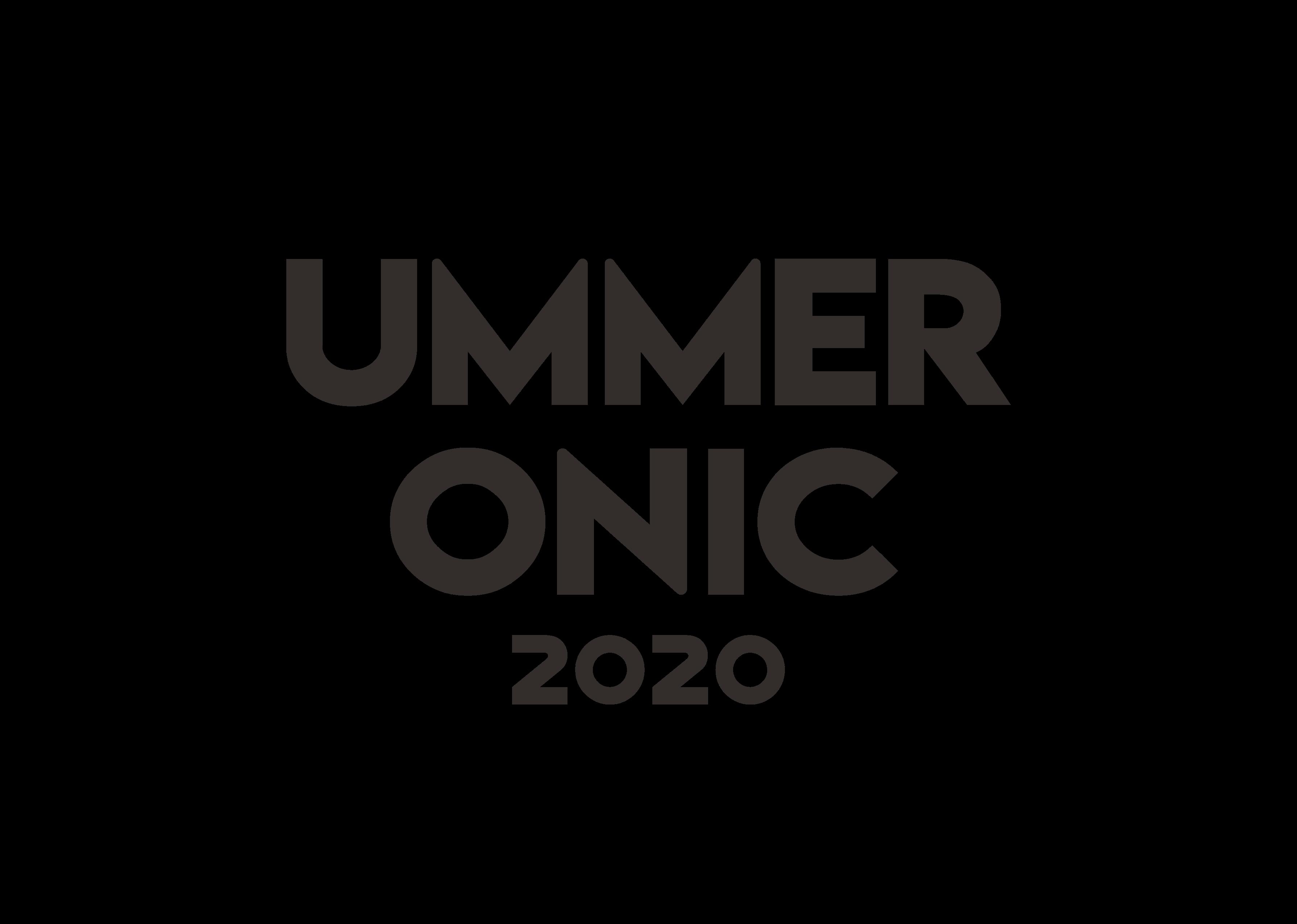UMMER ONIC 2020 ロゴ