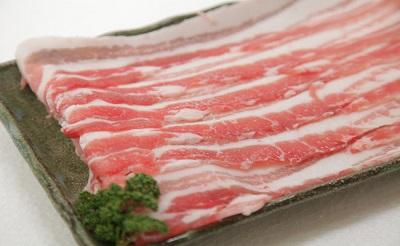 小林市産豚バラスライス