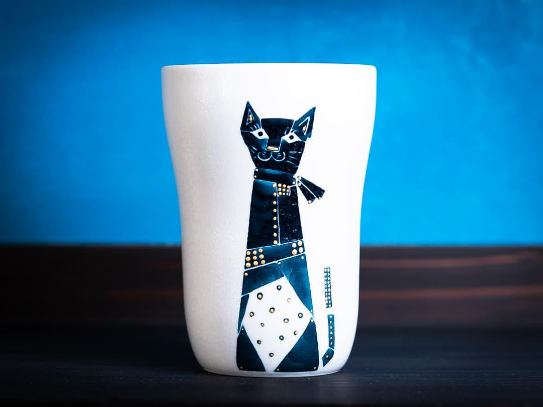 モダン猫シリーズ ロンググラス
