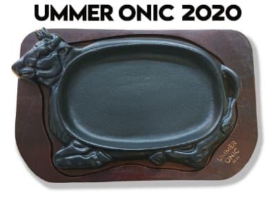 小林まちづくり株式会社 UMMER ONIC 2020特製 ステーキ皿