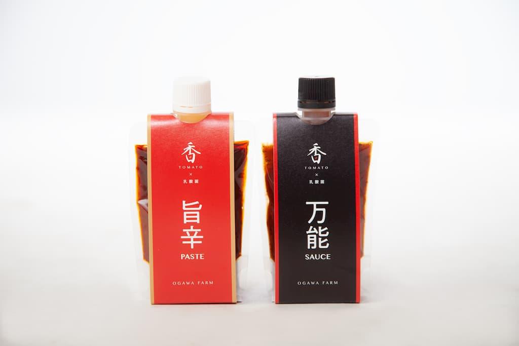 OGAWA FARM 香TOMATO 濃厚ソースセット