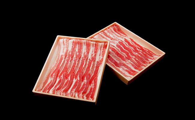 サンキョーミート株式会社 小林市産豚バラスライス・宮崎県産牛肉(4等級以上) サイコロステーキ詰め合わせ