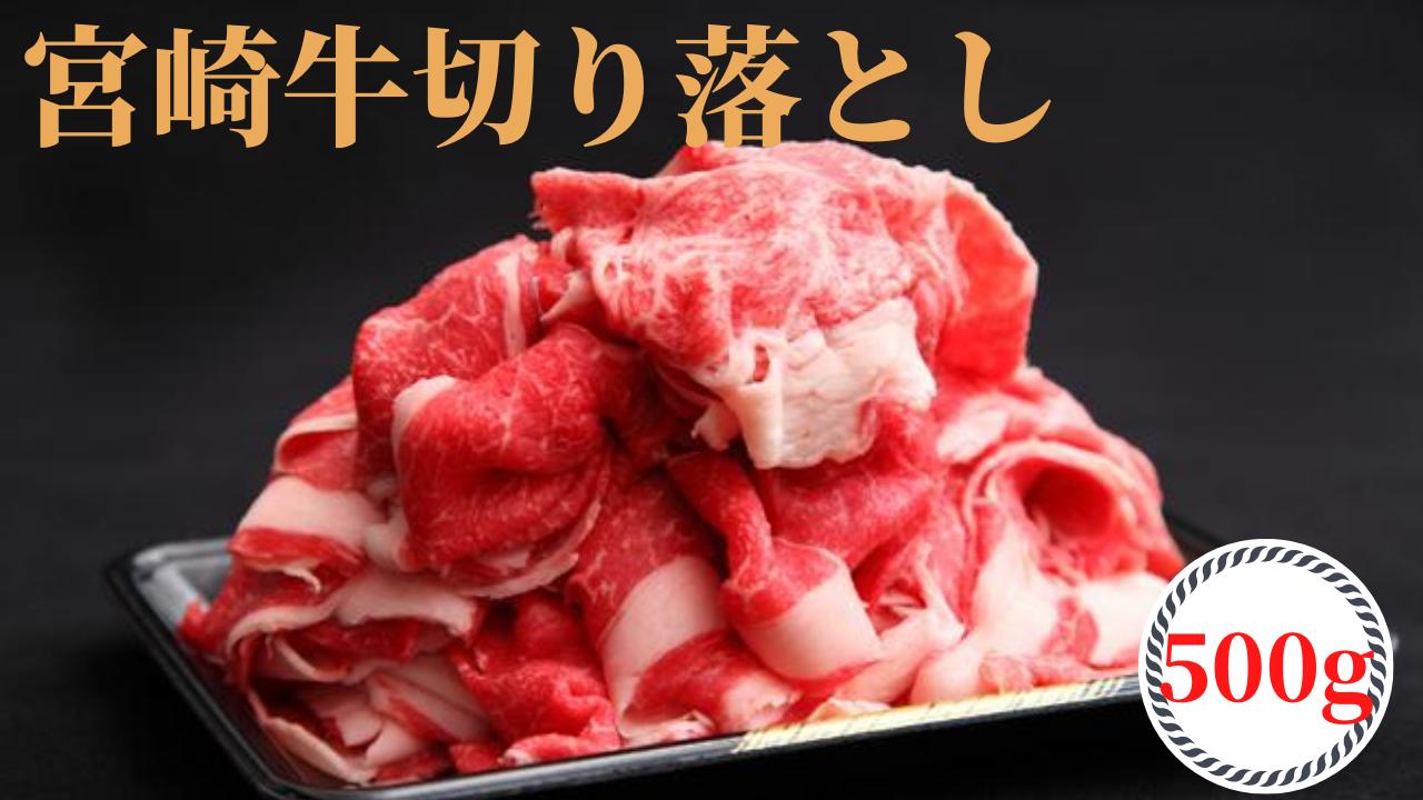 株式会社 ビーフ倉薗 宮崎牛切り落とし 500g