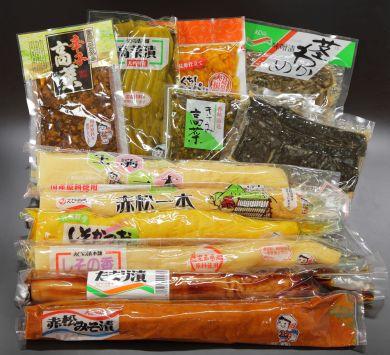 佐藤漬物工業(株) えびの漬セット「ひなもり」 <<計12品セット>>