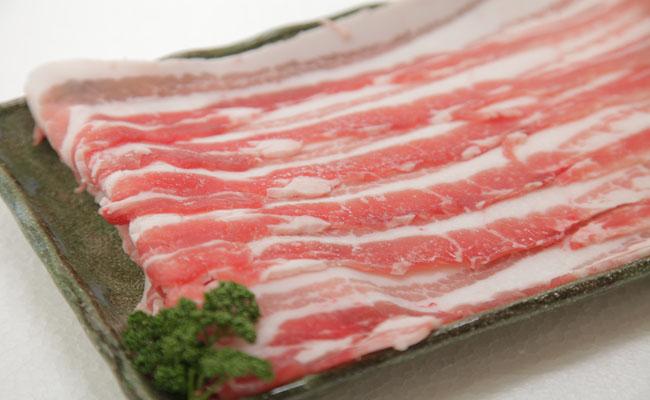 サンキョーミート株式会社 小林市産 豚バラスライスセット(400g × 2パック)