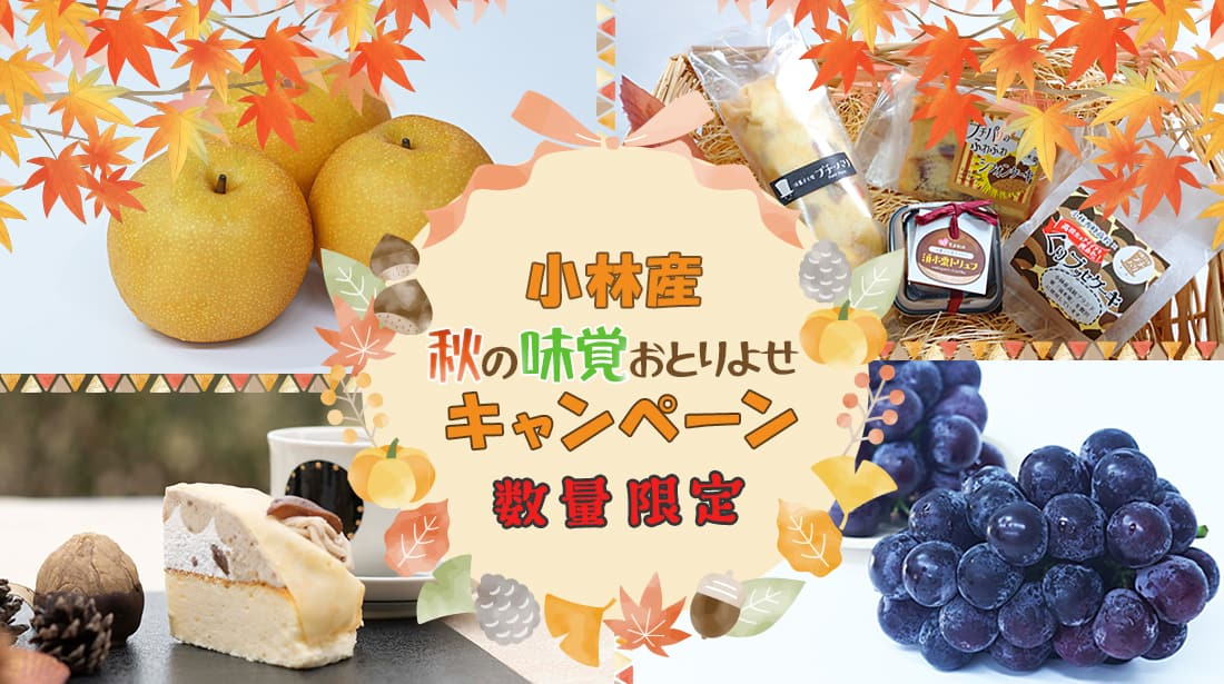 ンダモシタンマルシェ秋の味覚おとりよせキャンペーン